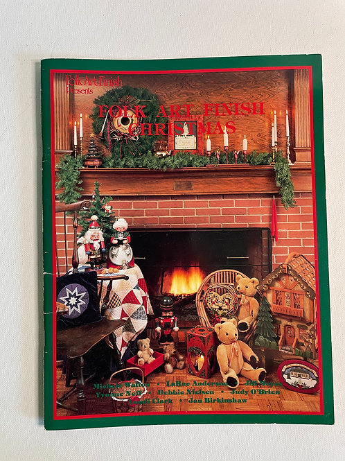 Folk Art Finish Christmas by M.Walton and others