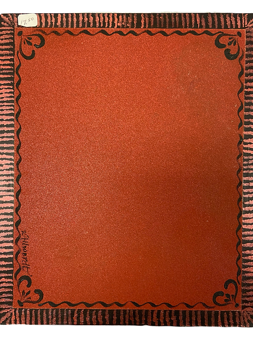 Decorated Grit Board