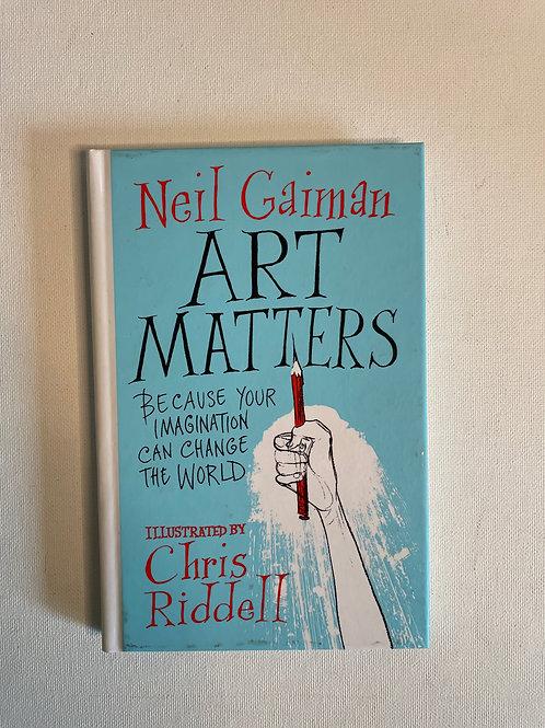 Art Matters, Neil Gaiman