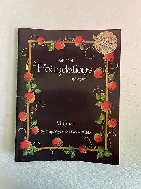 Folk Art Foundation in Acrylics by Snyder & Abdella