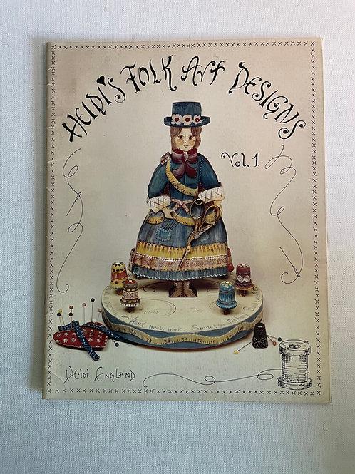 Heidi's Folk Art Designs #1, Heidi England