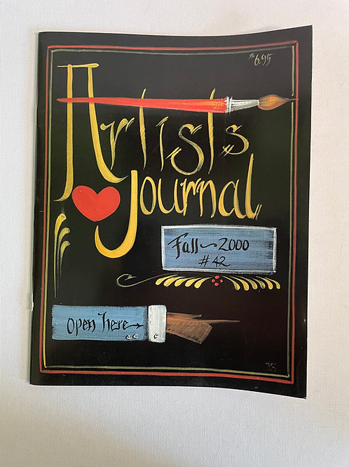 Artist Journal Fall 2000 by JoSonja