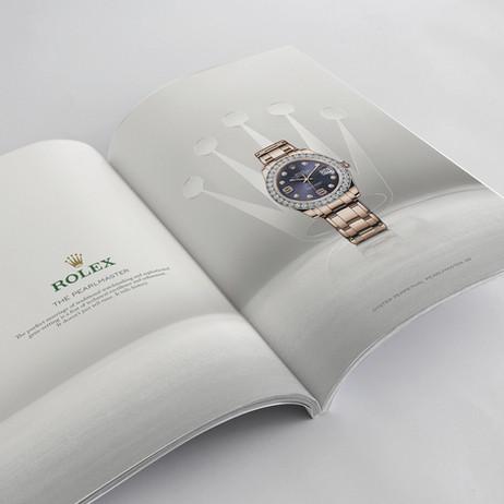 Rolex Australia Print and POS design