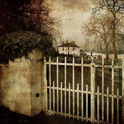 Beyond the white gate ...