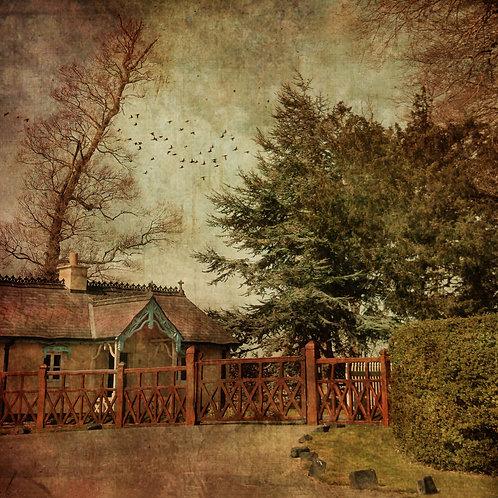 The gatehouse.