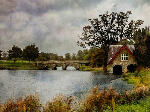 Boathouse and bridge