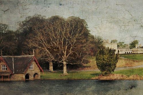 The Victorian boathouse.