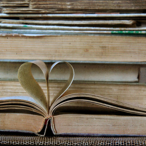 For the love of books ...and clichés