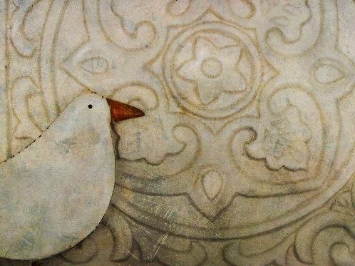 The white bird ...
