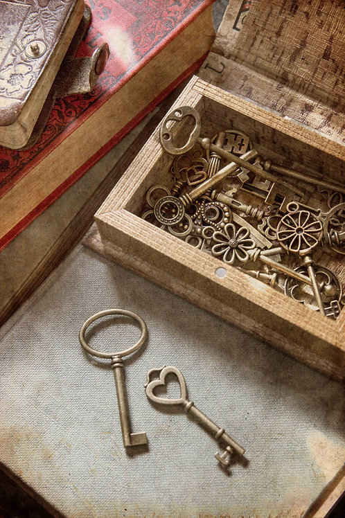 The box of keys.