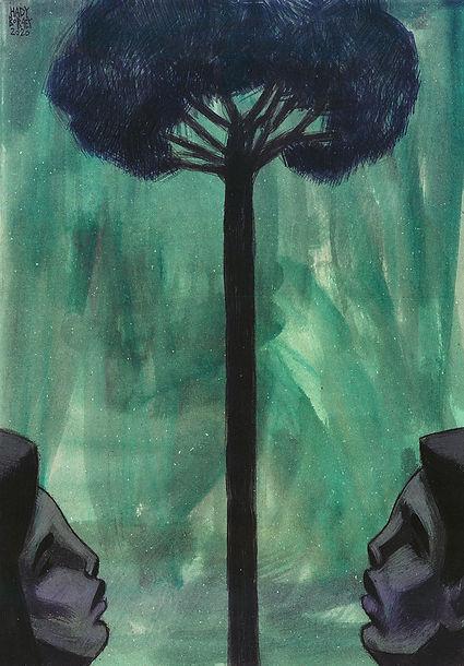 Hady Boraey, The Tree, 2020