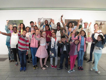 Youth workshop with the Jonas Foundation