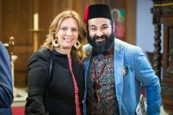 Mdme Dalia Elbatal, wife of Ambassad