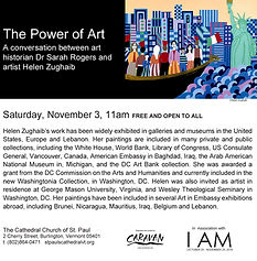 I AM Power of Art at St. Paul's