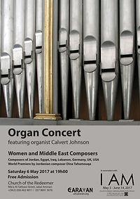 Organ Concert with Calvert Johnson, Amman, Jordan