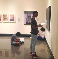 Vanderbilt University students visit I AM exhibition