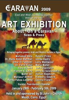 On A Caravan, 2009 CARAVAN exhibition