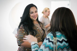Participating artist Sheikha Lulwa Al Khalifa