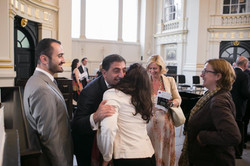 Guests with Ambassador Homoud