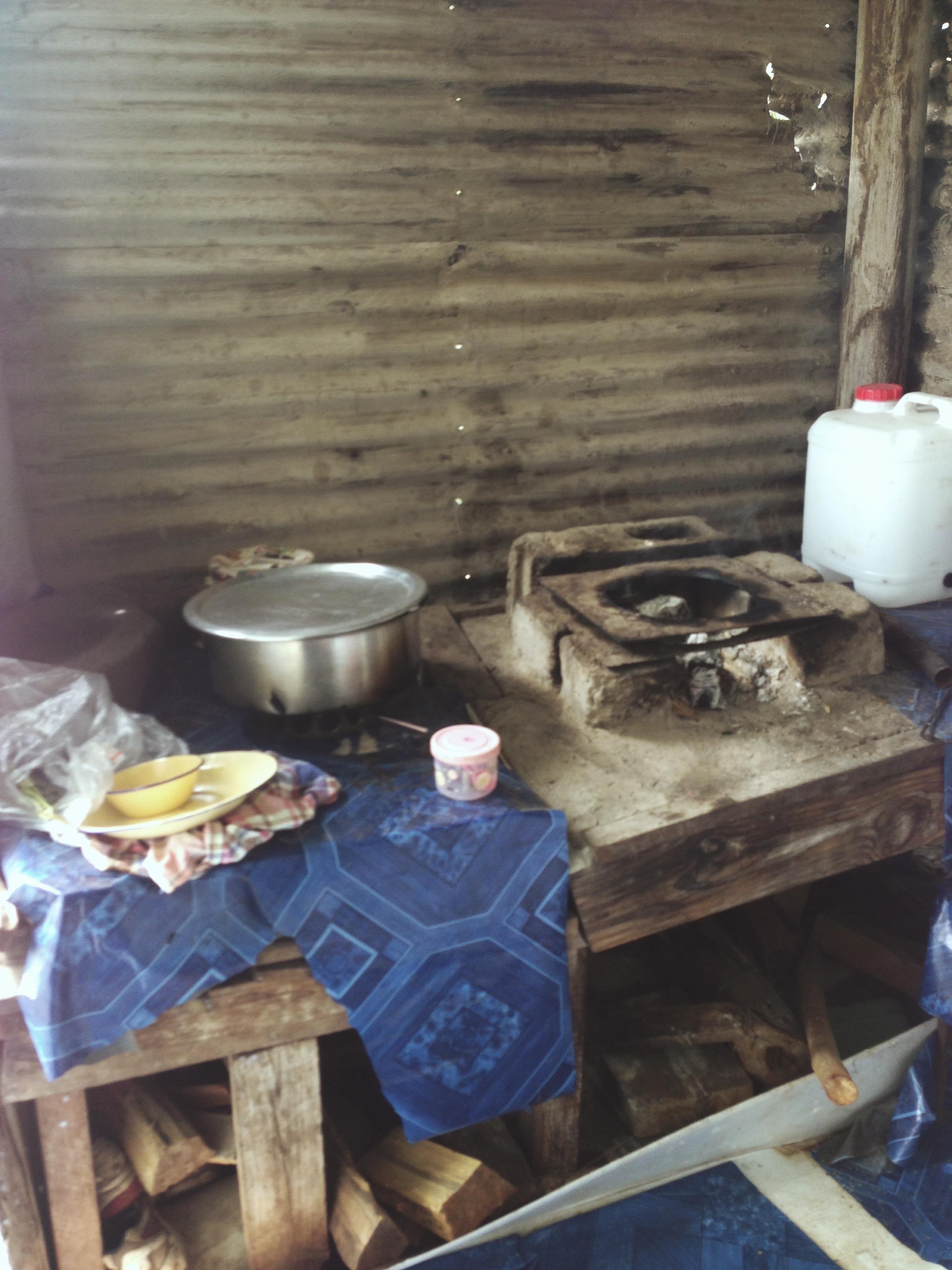 Lunch in a Fijian Village