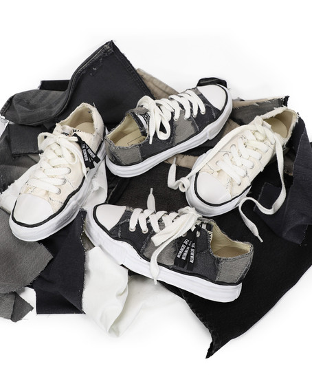 """RECOGNIZE × Maison MIHARA YASUHIRO × BOW WOW Collaborations """"PATCHWORK"""" SNEAKERS"""