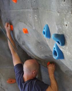 Climbing Wilmington Rock Gym