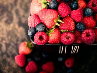O poder das frutas vermelhas