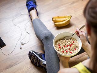 A importância da alimentação pré-treino