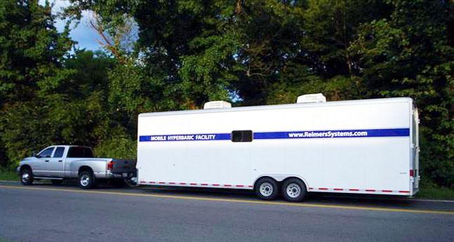 Mobile Hyperbaric System