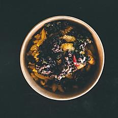 Cauliflower, white bean, olive