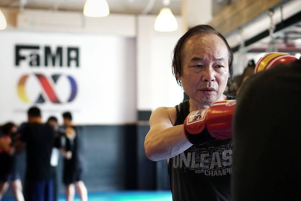 fama singapore muay thai kickboxing seminar kru jack boxing