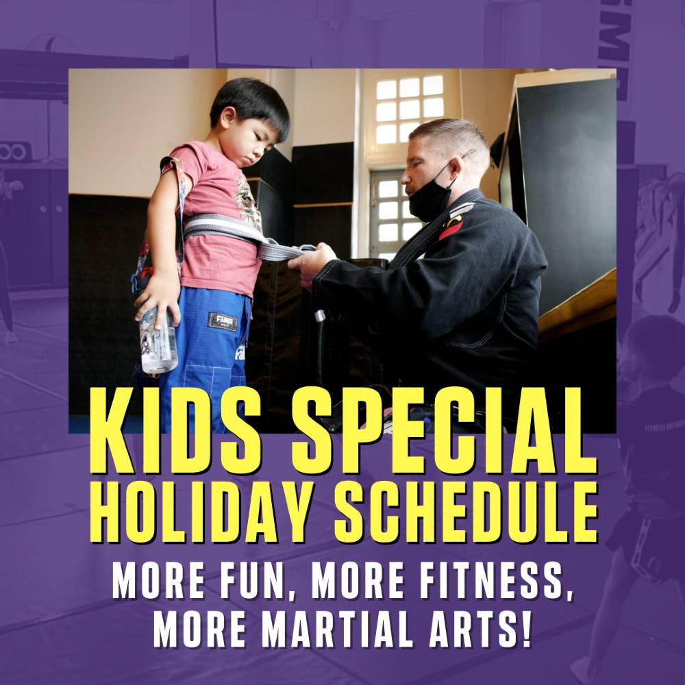 fama singapore kids martial arts brazilian jiu jitsu bjj professor robyn tying belt