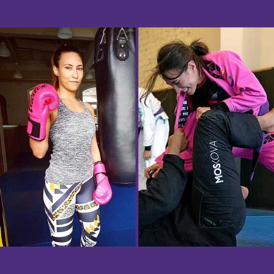 fama singapore kirstie gannaway boxing muay thai brazilian jiu jitsu gi