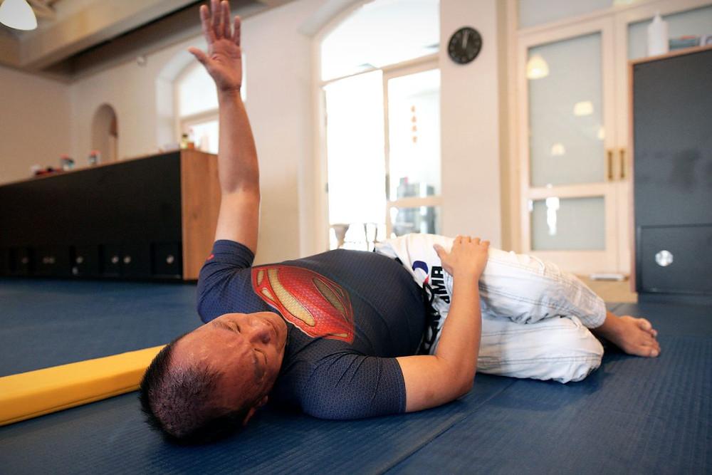 fama singapore bjj brazilian jiu jitsu shoulder mobility warm up