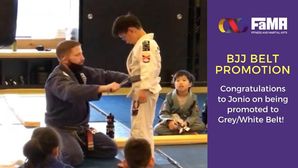 fama singapore brazilian jiu jitsu bjj kids class belt promotion