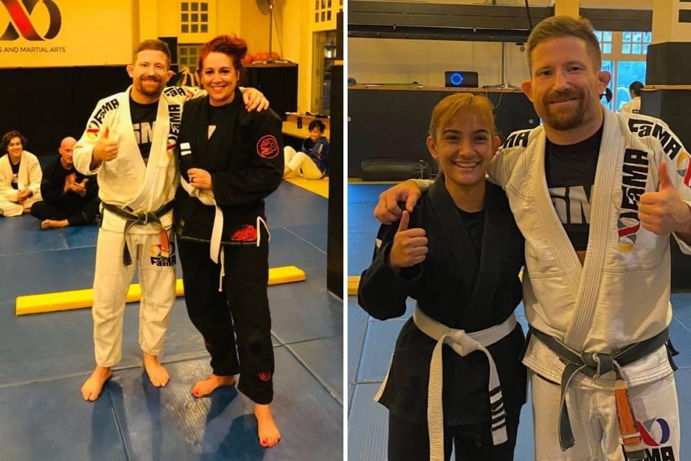 fama singapore martial arts bjj brazilian jiu jitsu belt promotion