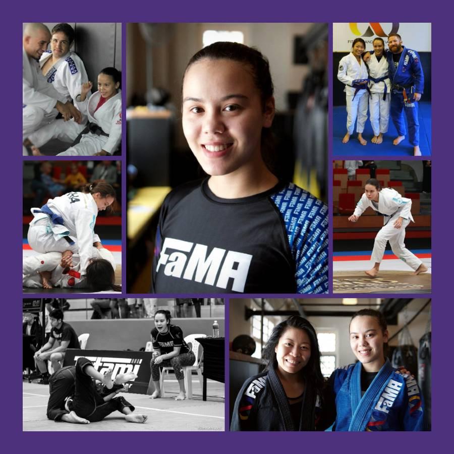 fama singapore kids brazilian jiu jitsu bjj teaching assistant kinaree birthday