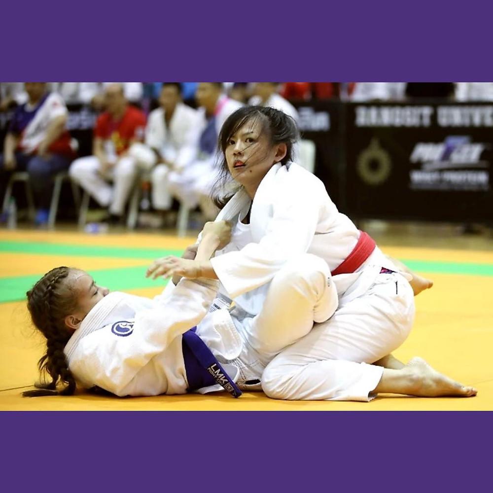 fama singapore kids brazilian jiu jitsu bjj assistant instructor sue ann