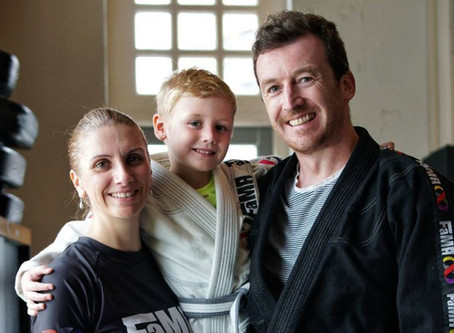 A FaMAly Affair: How Fitness and Martial Arts Brought the Dempsey Family Closer