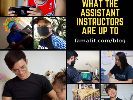 FaMA at Home: What the Assistant Instructors Are Up To