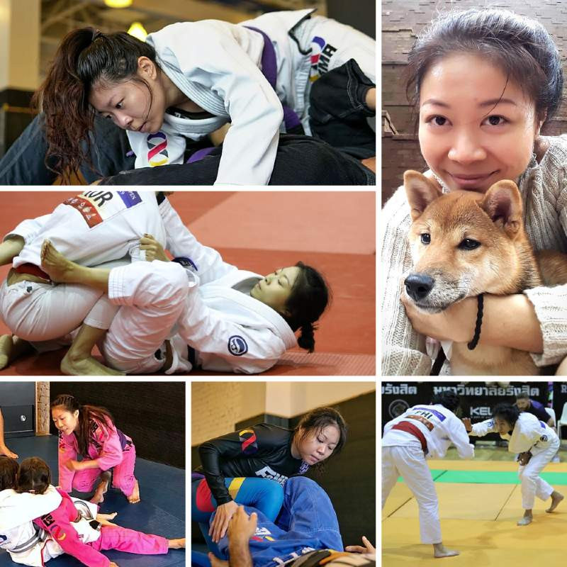 fama singapore bjj assistant instructor candy collage