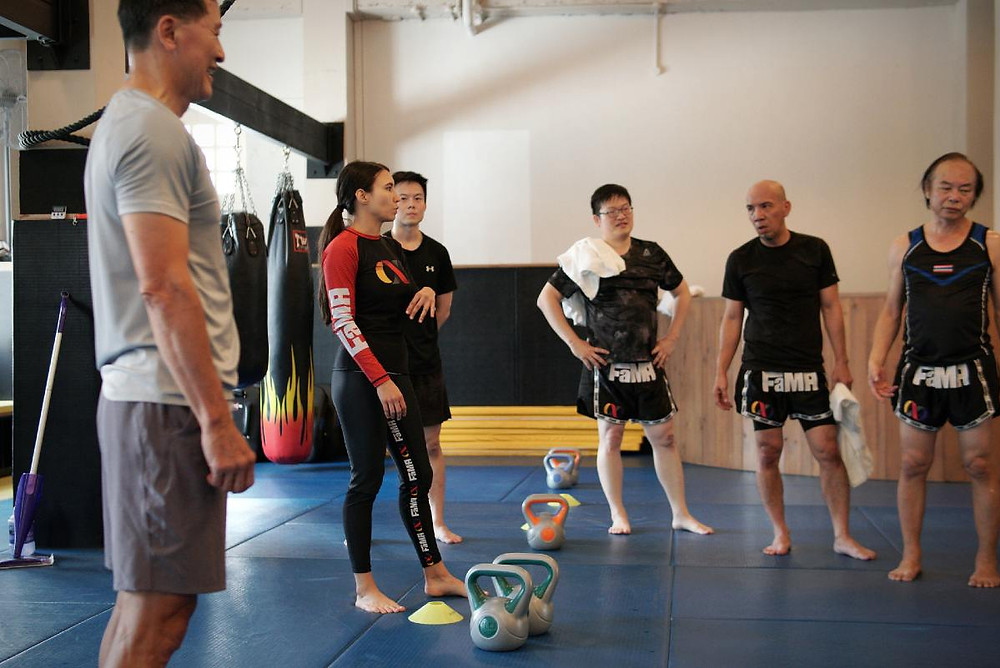 fama singapore kirstie gannaway fitness class
