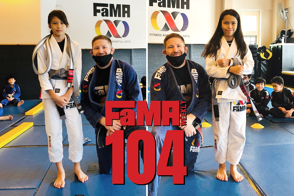 fama weekly 104 singapore kids martial arts professor robyn