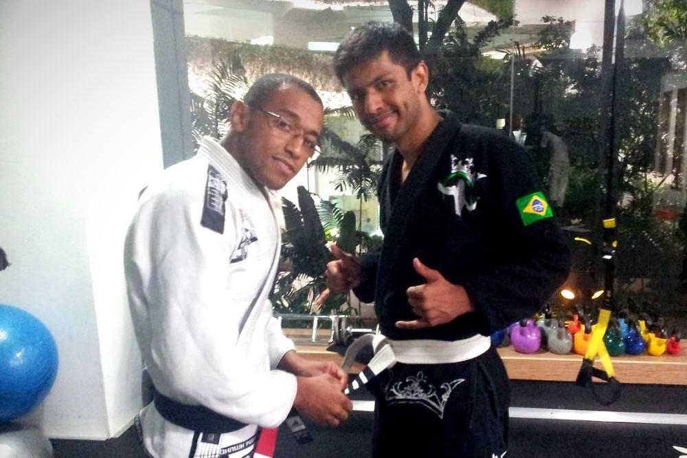 fama singapore assistant instructor nevash white belt stripes