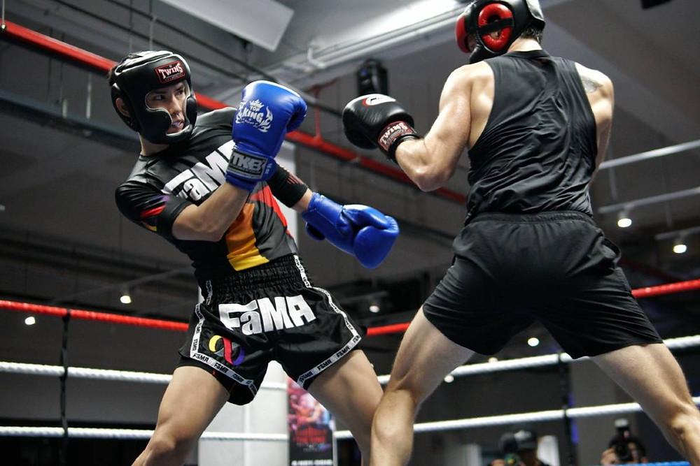 fama singapore amateur boxing match