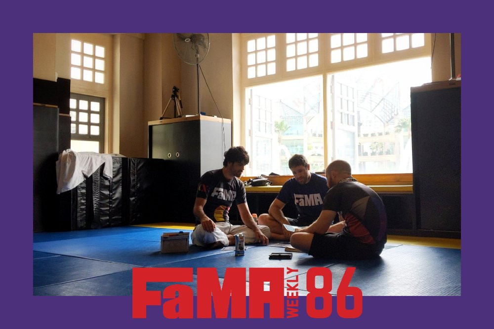 fama weekly 85 singapore coach kirstie gannaway