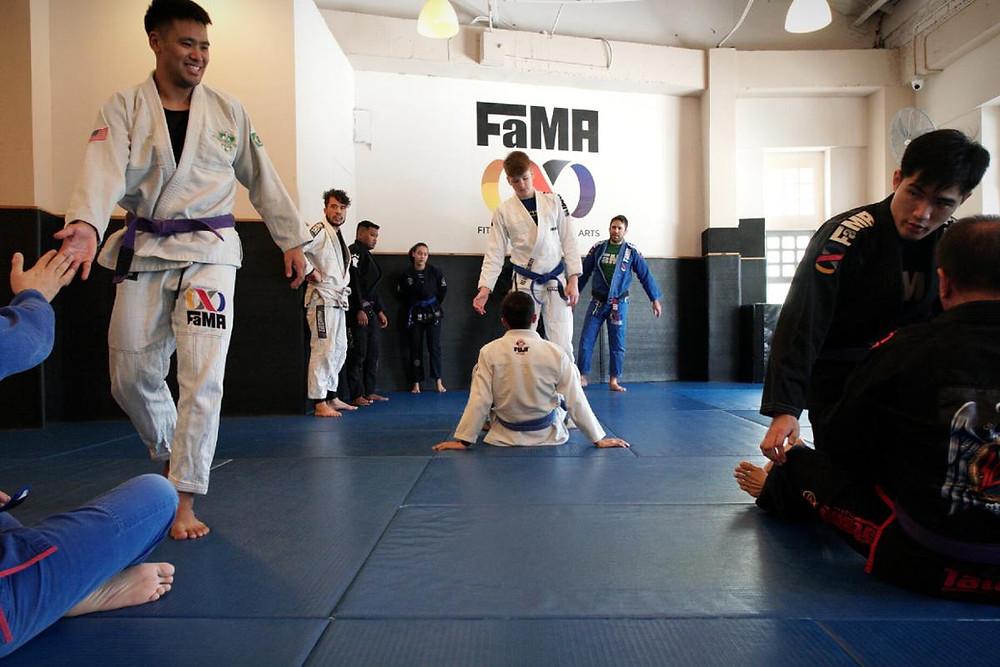 fama singapore brazilian jiu jitsu bjj zoro moreira sparring