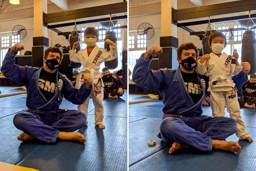fama singapore kids martial arts bjj brazilian jiu jitsu stripes