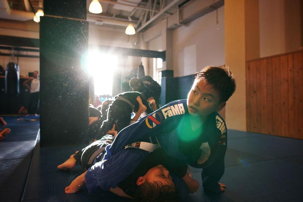 fama singapore kids martial arts benefits bjj brazililan jiu jitsu