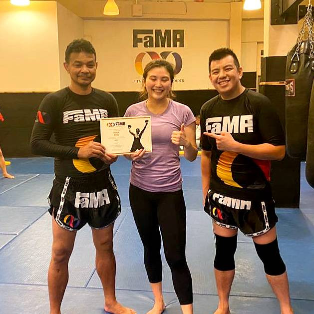 fama singapore muay thai promotions with kru yo lamnammoon